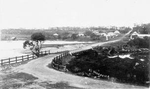 Old Ulladulla harbour photo c1917