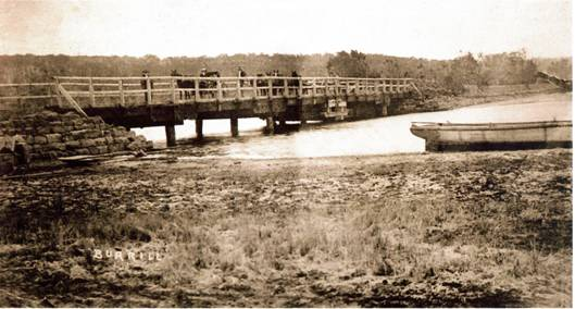 Burrill Lake Bridge c1900