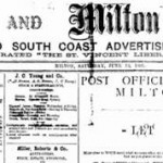 Newspaper Ulladulla 1899